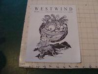 original Sci Fi paper(s): WESTWIND apr 1997; #218 northwest sci fi society 16pgs