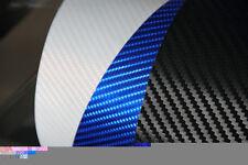 Mejor Calidad 3D Negro De Fibra De Carbono Vinilo con textura Coche Envolver: 30CMx 1.52M