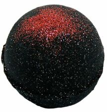 Bath Bomb Karma Sutra 5.5 oz Deep Black Chasm w/ Red Glitter