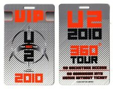 U2 VIP Backstage Pass Laminate - 2010 360 Tour