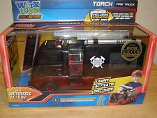 NEW Worx Toys Torch Fire Truck Interactive Story Book Educational Remote Control