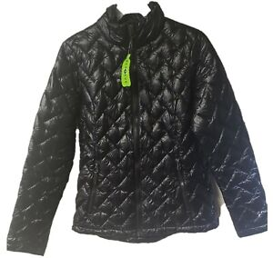 Women's Free Country Packable Down Blend Freecycle Jacket Black NWT Various Size