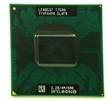 Intel Core 2 Duo T7500 2.2GHZ 4MB L2 cache 800MHZ FSB CPU Processor SLAF8