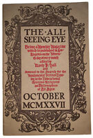 THE ALL-SEEING EYE, MANLY P HALL, VOLUME 4, No 6, 1927, OCCULT, MAGIC, MYSTICISM