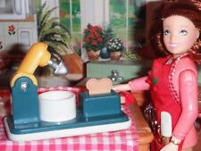 Fisher Price Loving Family Dollhouse Toaster & Mixer Vintage Play Food Piece HTF