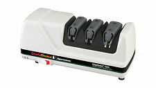 NEW CHEF'S CHOICE M120S WHITE ELECTRIC KNIFE SHARPENER EDGESELECT PLUS SPORTSMAN