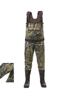 HISEA Chest Waders Neoprene Duck Hunting Waders for Men with Boots - Size 14