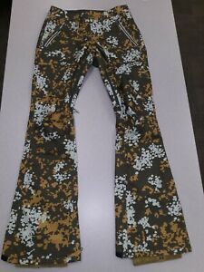 NEW Burton  Living Lining  floral Snow Pants Ski Snowboard Pants Sz XS