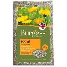 Burgess Excel Herbage Dandelion and Marigold 1Kg - Complimentary Rabbit Food