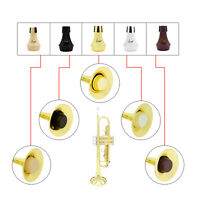 ABS Material Mini Practice Trumpet Straight Mute Silencer Sourdine 5 COLORS