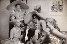 Eddie Constantine et les girls photo Jean Marquis Original Vintage circa 1965