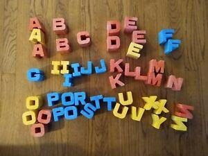 Mattel Tuff Stuff letters (47)1971