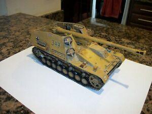 1/35 Built German Hummel Wespe
