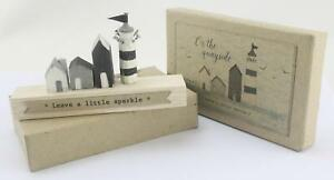 East of India On The Quayside Leave a Little Sparkle Wooden Lighthouse Gift