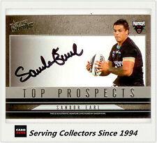 2011 Select NRL Strike Top Prospect Signature Card TP11 Sandor Earl (Panthers)