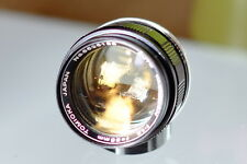 Yashinon Tomioka 55mm f1,2 M-42 Mount Caps  Minty  Perfect