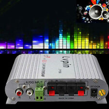 Hot 200W 12V Super Bass Mini Hi-Fi Radio MP3/4 Stereo Amplifier Booster for Car