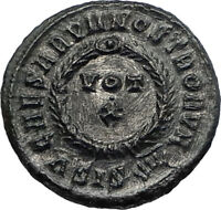 CONSTANTINE II Jr - Son of Constantine the Great 321AD Ancient Roman Coin i67305