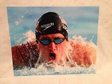 RYAN LOCHTE SIGNED AUTO 8x10 PHOTO SWIMMING OLYMPICS USA U.S.A. PROOF* **WOW** 7