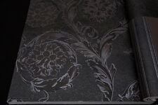 Versace Clothing Designer Authentic Black Classic Baroque Wallpaper