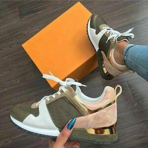 Women Sneaker Casual Shoes Breathable Platform Sport Shoes Walking Sneakers