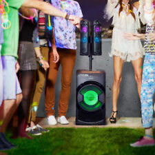 Sony 2.1 Wireless Bluetooth Hi-Fi DJ System Powered Speakers Light Party RGB LED
