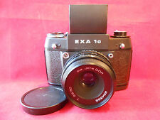 EXA 1c Objektiv T 2,8/50 Jena DDR Spiegelreflexkamera Kamera mit LS