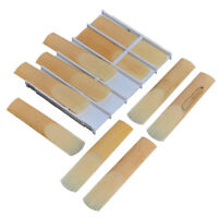 Box of 10pcs Eb Alto Sax Saxophone Reeds Strength 2.5 Professional Reed Parts