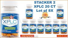 Stacker 2 XPLC 20 Capsules (Lot of 8 X Bottles) Weight Loss & Energy Dietary