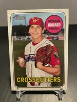 Spencer Howard 2018 Topps Heritage Minors #52 - Phillies