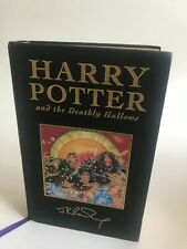 Harry Potter and The Deathly Hallows 1st deluxe edition UK JK Rowling
