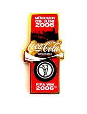 "COCA COLA Pin / Pins - FIFA WM 2006 ""MÜNCHEN"" (3971)"