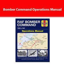 Bomber Command Operations Manual by Jonathan Falconer book NEW Haynes Manuals