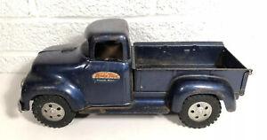 Vintage 1957 Tonka Stepside Pickup Truck Pressed Steel