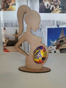 Easter Creme Egg Holder Pregnant Lady keepsake gift
