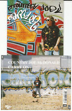 """Country Joe McDonald """"Carry On"""" CD 1994 Line Records, rbcd 9.01302"""