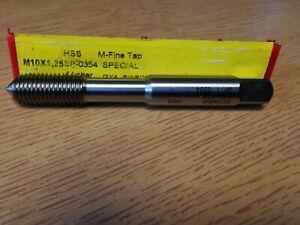 M10 x 1.25mm HSS Metric-Fine Tap M-course Thread Forming Dormer