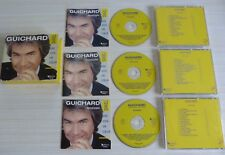 RARE COFFRET 3 CD SELECTION READER'S DIGEST DANIEL GUICHARD UNE VOIX UN COEUR