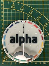 "Badge PVC 4"" Patch Alpha ESA NASA Mission ISS"