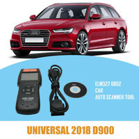 Universal Car Fault Code Reader D900 OBD2 EOBD CAN Diagnostic Scanner Tool UK