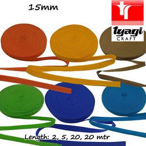 Polyproplyne Nylon Tape Webbing Strap Bag Rucksack Colour  15mm PP Marine