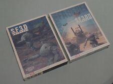 S.F.3.D & S.F.3.D II (SF3D SF3D II) Ma.K - Hobby Japan - P/SW - Complete + BONUS