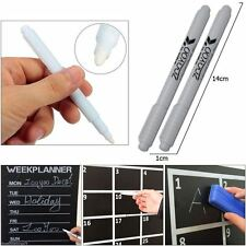 3 pcs White Liquid Chalk Pen Marker Chalkboard Blackboard