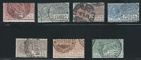 Italy, Scott #C3-C9, Used, Complete Set, Clear Cancels