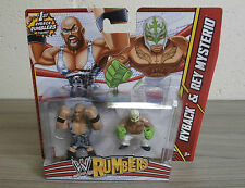 WWE Rumblers 2 Pack - Ryback & Rey Mysterio - New in Box