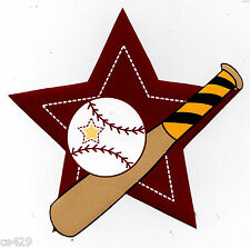"""4"""" BABY SNOOPY SPORTS BASEBALL LITTLE CHAMP PREPASTED WALLPAPER BORDER CUT OUT"""