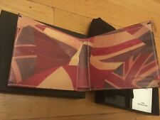 *RARE Collector* NEW from 2010 - Paul Smith - Union Jack Leather Wallet
