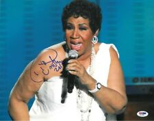 New Art Print of Autographed Celebrity Photo 8 1/2 X 11 Aretha Franklin