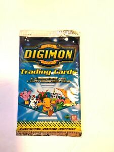 Digimon Trading Cards Series 1 Animated Edition BanDai Upper Deck 1999 New