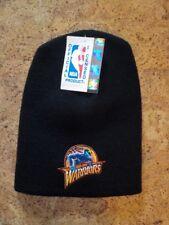 Vintage-Bonnet court de l'équipe des WARRIORS - Noir en taille unique - neuf